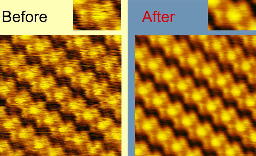 Noise reduction and image quality improvement